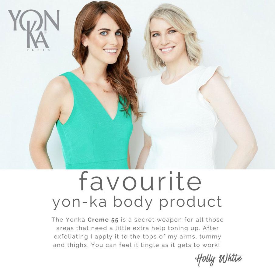Holly White - Favourite Yon-Ka Body Product