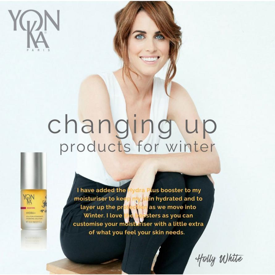 Changing up products for winter with Holly White