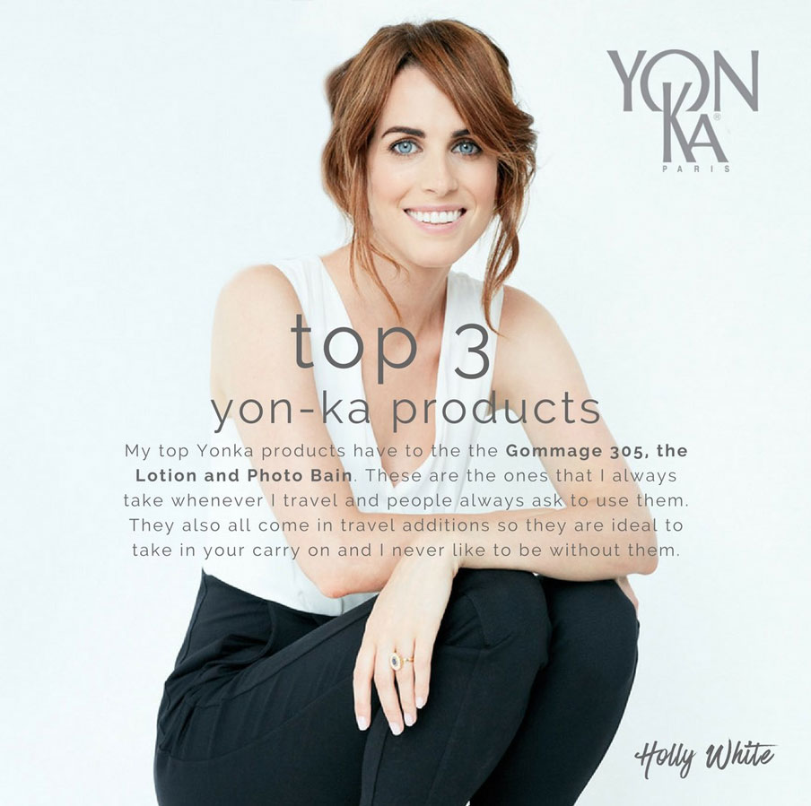 Holly White - Top Three Yon-Ka Products