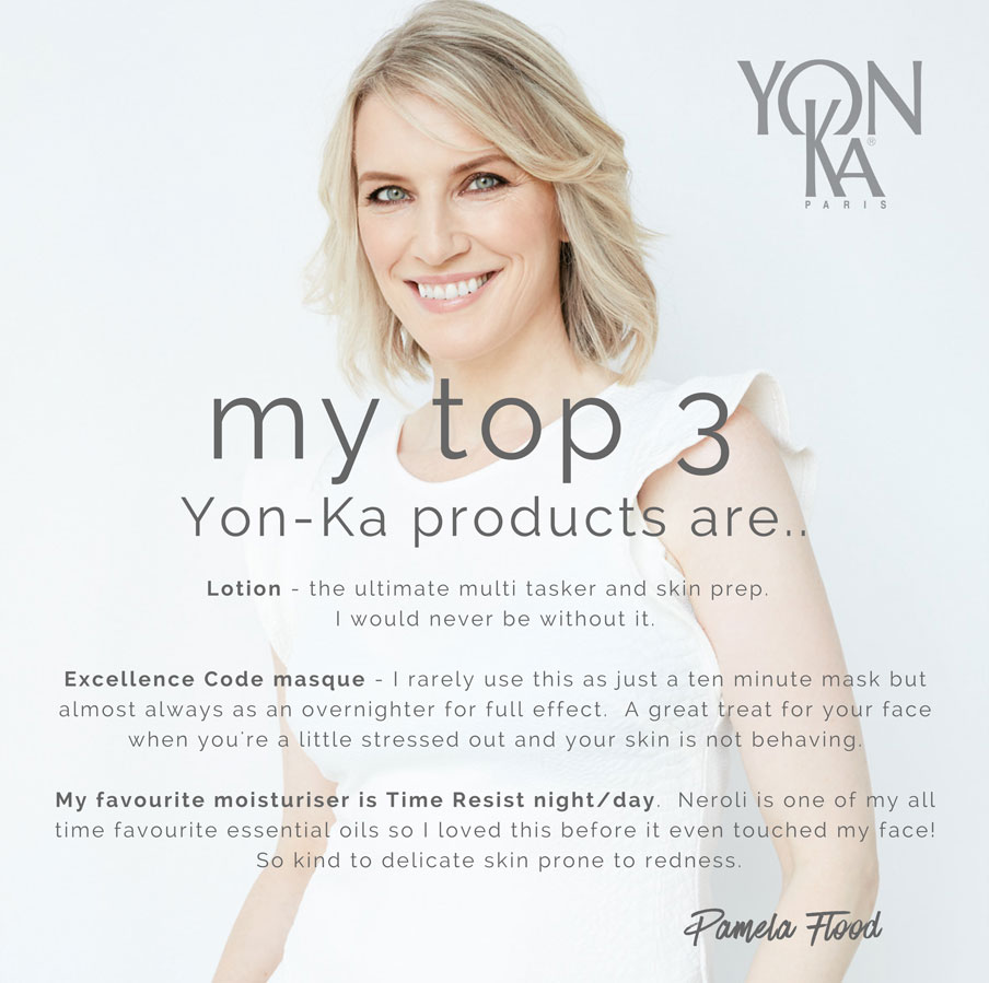 Pamela Flood - Top Three Yon-Ka Products