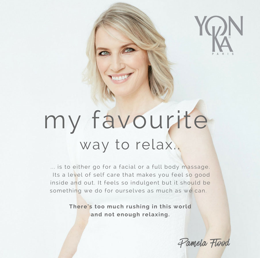 What's Pamela Flood's favourite way to relax?