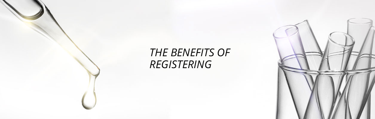 Header Banner Benefits of Registering